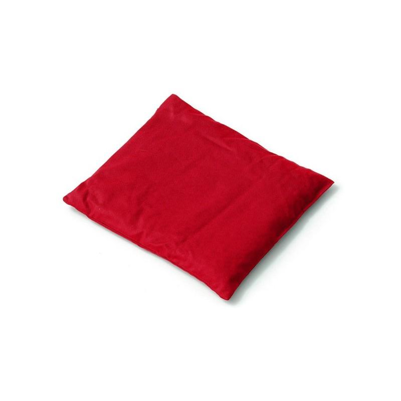 SISSEL® Coussin noyaux de cerises 24 x 26 cm - rouge
