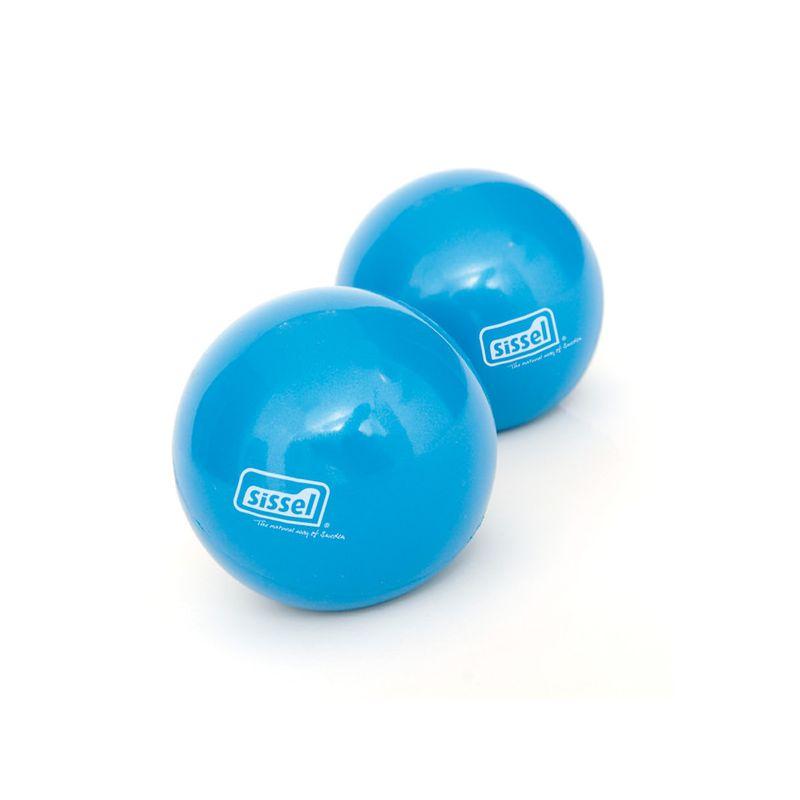 SISSEL® Toning Ball, la paire Ø9 cm bleu - Balles Pilates - SISSEL Pro