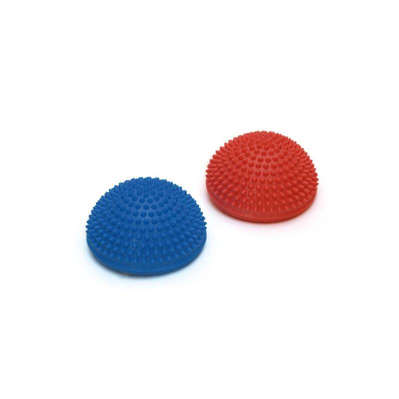 SISSEL® SPIKY DOME, lot de 2 rouge & bleu