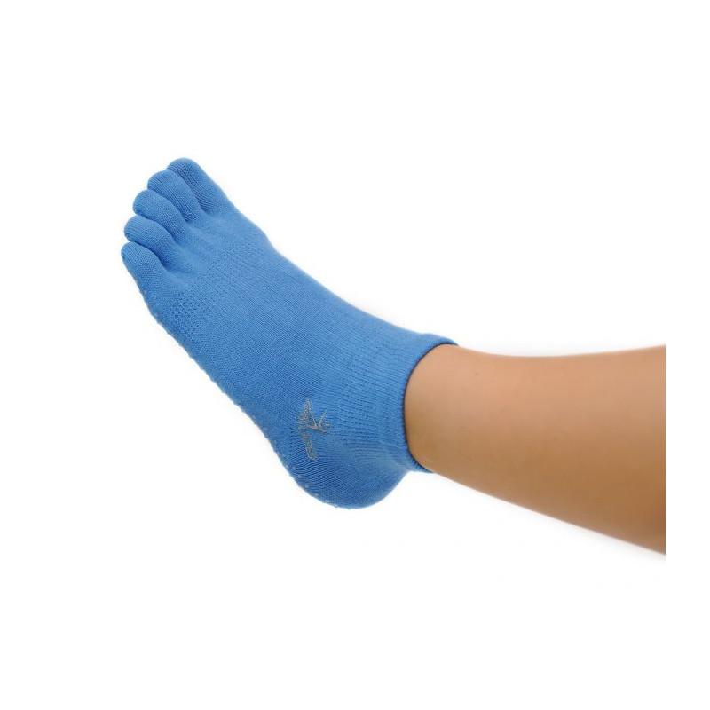 Chaussettes Pilates bleu ciel en fibre de bamboo - Accessoires Pilates - SISSEL Pro