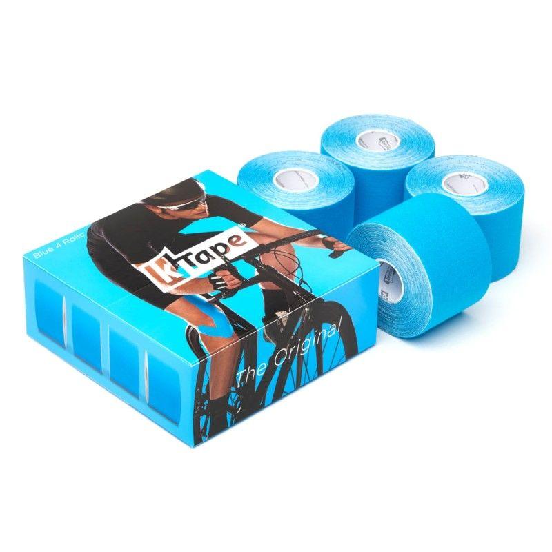 Packaging boîte de 4 bandes de taping Bleu | Bandes k-tape®