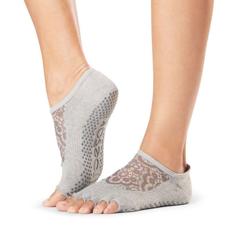 Chaussettes antidérapantes Pilates Toesox® Half Toe Luna Legend