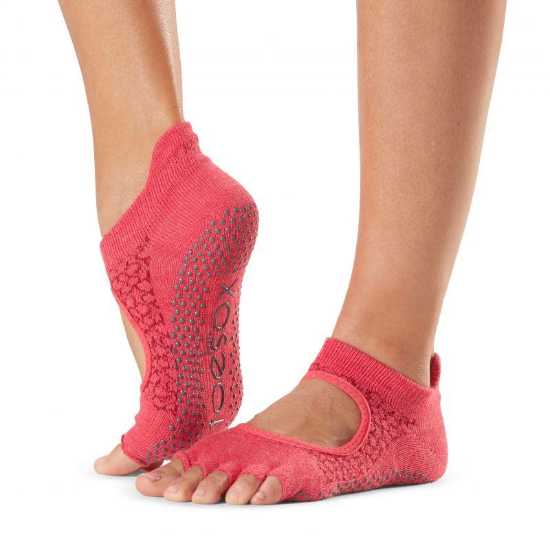 Chaussettes antidérapantes Toesox® Half Toe Bellarina Hermosa | Chaussettes antidérapantes