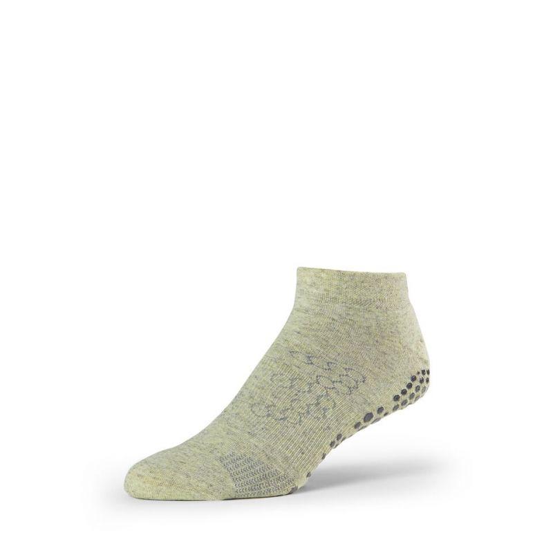 Chaussettes antidérapantes BASE 33™ Lowrise homme Kelp | Chaussettes Grip homme