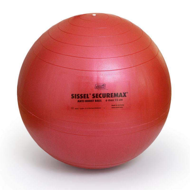 Ballon de gymnastique SISSEL® SECUREMAX® Ø55 cm rouge