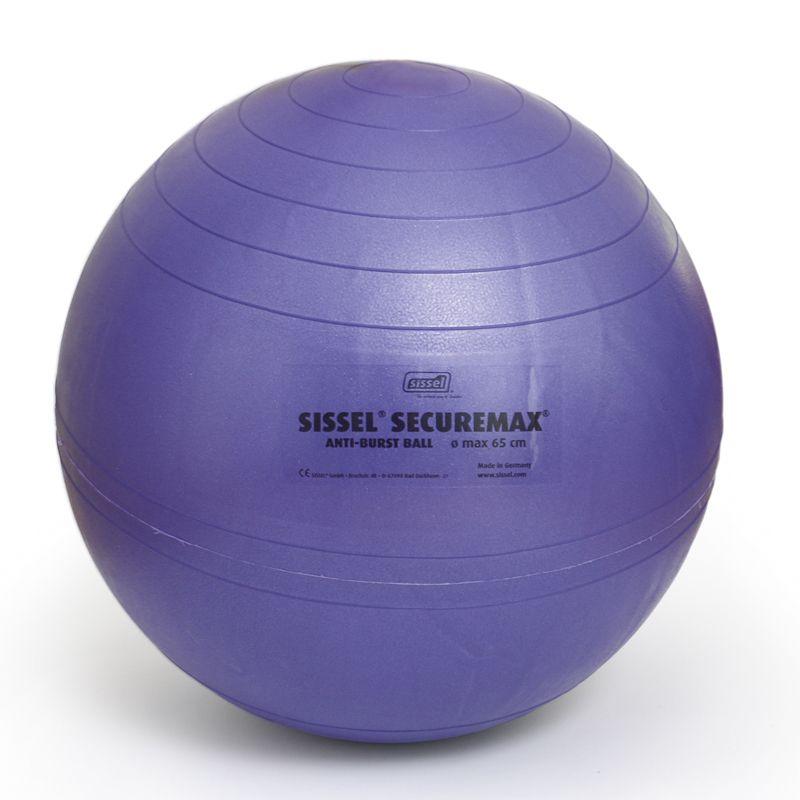 Ballon de gymnastique SISSEL® SECUREMAX® Ø75 cm lila