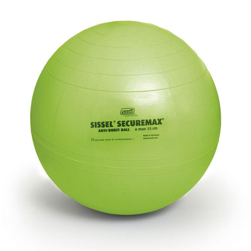 Ballon de Gymnastique SISSEL® SECUREMAX® Ø75 cm vert