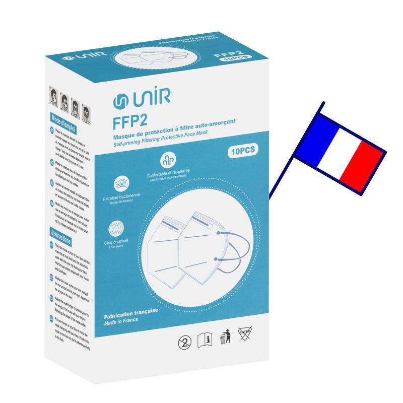 Masque FFP2 made in france (lot de 10)