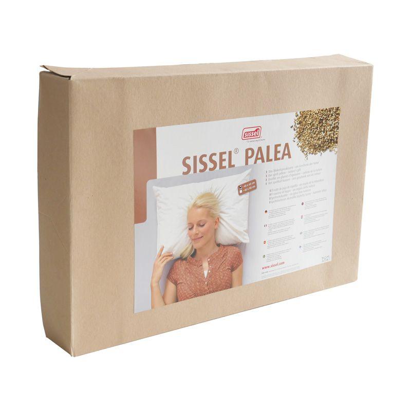 Packaging SISSEL® PALEA Oreiller en graines d'épeautre