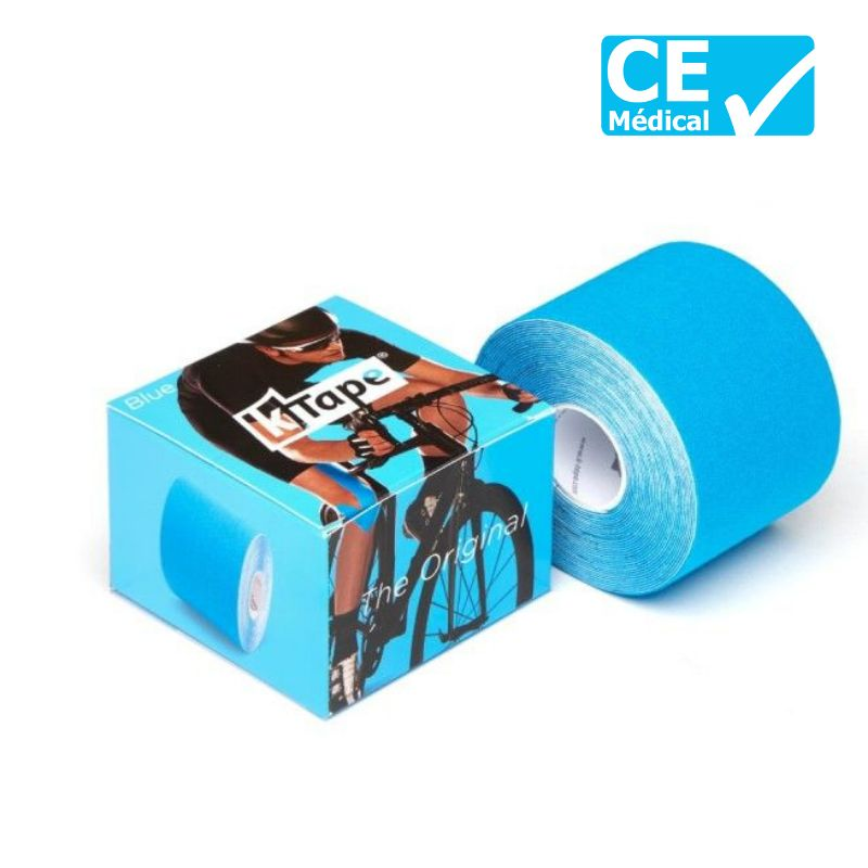 Packaging bande taping K-Tape® 5 m bleu | K-Tape®