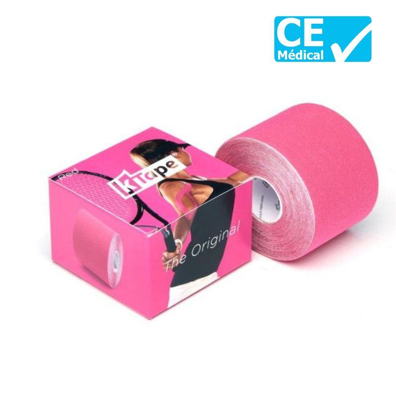 Packaging bande taping K-Tape® 5 m rose | K-Tape®