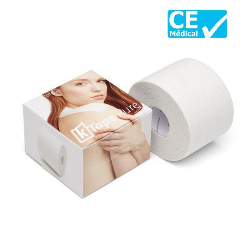 Emballage bande taping K-Tape® 5 m Pure