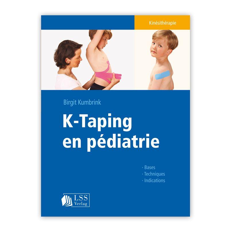 Première de couverture du livre K-Taping® en pédiatrie