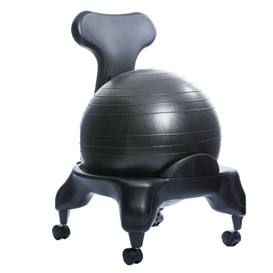 tonic chair noir assise dynamique